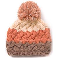 冬天毛线帽女士保暖针织帽双层加绒可爱护耳帽