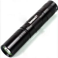 户外LED强光小手电flashlight锂电池充电防水S5手电筒家用远射防水户外骑行
