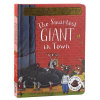 【中商原版】城里美丽的巨人 纸板书 英文原版 The Smartest Giant in Town
