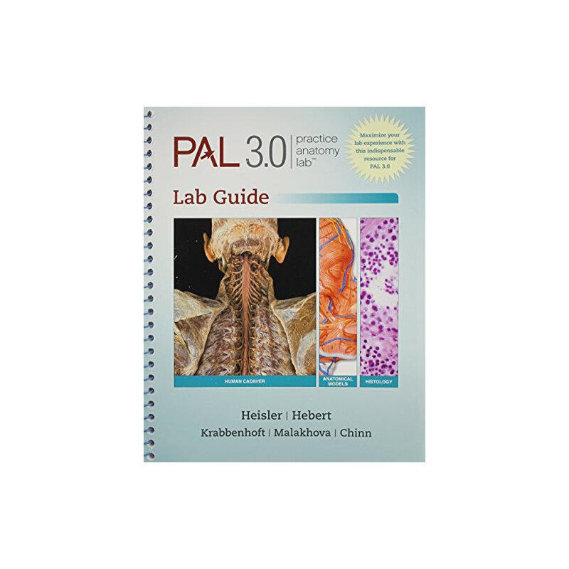 Practice Anatomy Lab 3.0 Lab Guide with PAL 3.0 DVD [ISBN: 978 ...