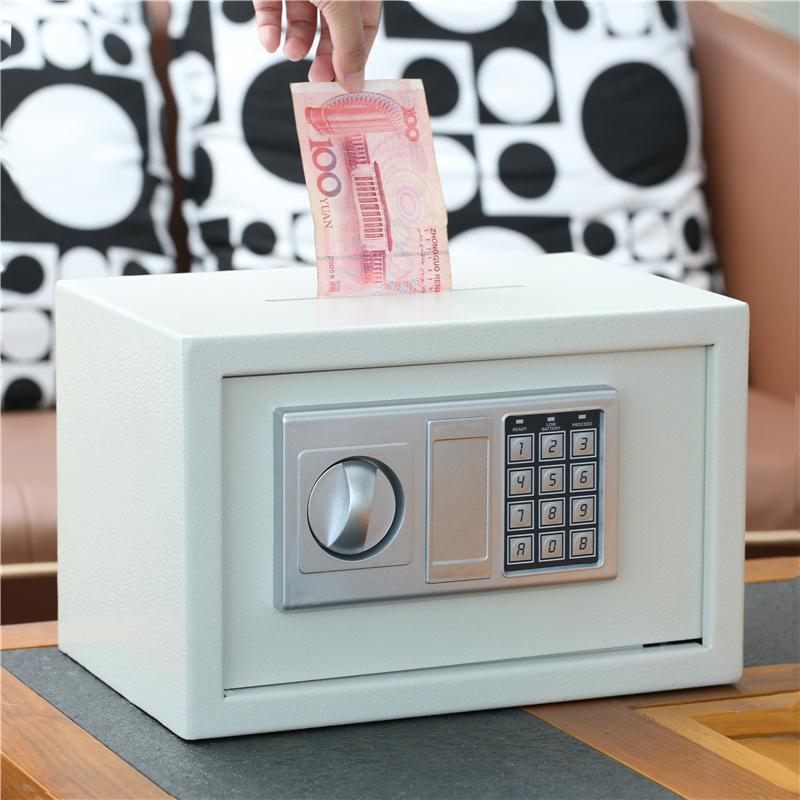 大容量密码箱网红保险柜存钱罐大人用家用储蓄盒硬币纸币两用储钱 投币款 白色 本店部分商品为定制商品或定金价格,下单前联系客服确认以及大件商品修改运费,私自下