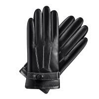 触屏男士手套冬季男加绒加厚保暖防风防水骑摩托车骑行 A款 触屏功能 均码
