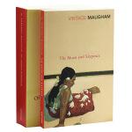 【中商原版】毛姆经典作品 两册套装 英文原版 Moon And Sixpence 月亮和六便士 毛姆 人性的枷锁 经典
