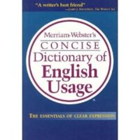 英文原版 Merriam Websters Concise Dictionary of English Usage 麦林韦氏英英词典 英语用法
