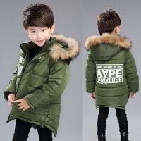 男童棉衣儿童装棉袄小男孩加厚新款童装韩版中长款保暖外套