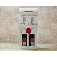 意大利索巴拉格蓝迪蓝布鲁斯科起泡葡萄酒750ml*2礼盒装