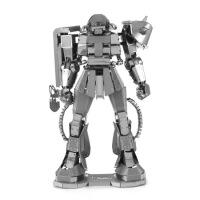 金属DIY 拼装模型 3D 立体拼图 高达机甲 MS-06 ZAKUII 扎古