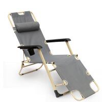 云博 云博加宽三用折叠椅折叠床单人办公室躺椅子简易午休午睡床户外行军床睡椅沙滩椅医院陪护床靠椅