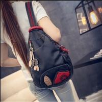 韩版潮流水洗皮斜挎包女包时尚休闲旅行包包包 单包