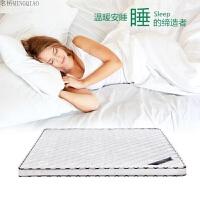 环保棕垫 护腰椎椰棕床垫1.8 1.5 1.2米硬棕榈薄床垫 席梦思定做 白色