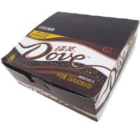 【包邮】德芙(Dove) 醇黑巧克力66%可可 盒装 516g (12条*43g) 办公室休闲零食