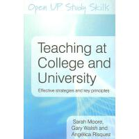 【预订】Teaching at College and University: Effective Strategie