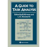 【预订】A Guide to Task Analysis: The Task Analysis Working Grou
