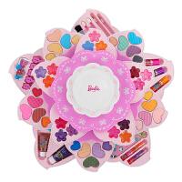 儿童化妆品南瓜公主彩妆盒套装口红女童女孩玩具生日礼物