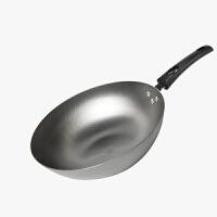 当当优品 精铸生铁平底炒锅 通用电磁炉煤气 32厘米