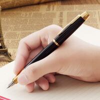 PARKER 派克 IM纯黑丽雅金夹墨水笔 钢笔  签字笔 商务* 生日礼物