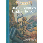 Classic Starts: 20,000 Leagues Under the Sea《海底两万里》精装 ISBN 9781402725333