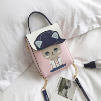 小包包斜跨包女士2018新款ulzzang单肩包女迷你包百搭时尚手机包