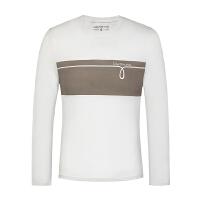 Calvin Klein Jeans 长袖T恤 CK男士13-3-4-CMP87T-020-165