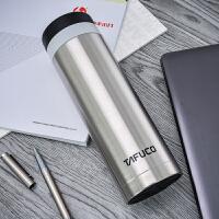 【当当自营】日本泰福高不锈钢真空保温杯 直身杯T1052