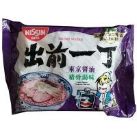 [当当自营] 香港地区进口 出前一丁 东京酱油猪骨汤味 100g*5