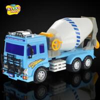 新菱大号惯性工程车儿童模型玩具汽车大型滚筒卡车搅拌水泥车卡车