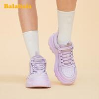 巴拉巴拉官方童鞋女童鞋子儿童运动鞋中大童时尚百搭2020新款春秋