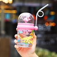 光一����水的小�L�~��水杯子�和�水杯吸管�W�t幼��@可�鬯�杯女夏