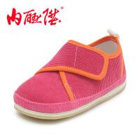 内联升童鞋千层底拼色粘扣夹鞋宝宝布鞋北京布鞋 5431C/5331C