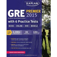 GRE Premier 2015 with 6 Practice Tests: Book+DVD+Online+Mob