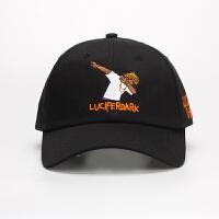 帽子男潮人个性黑人dabbin嘻哈帽街头鸭舌帽男女士百搭棒球帽春夏 可调节