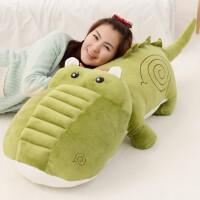 可爱鳄鱼公仔布娃娃毛绒玩具女生玩偶长条抱着睡觉的女孩抱枕