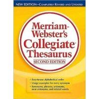 英文原版 Merriam-Webster's Collegiate Thesaurus 麦林韦氏大学词库宝典 韦氏英英词典