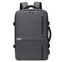 ?双肩包男士商务背包多功能15.6寸电脑包大容量出差旅行手提行李包?
