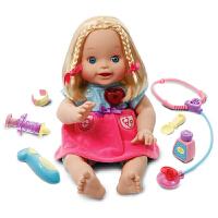 伟易达little love智能诊疗娃娃 女孩洋娃娃公主仿真过家家玩具