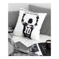 风帆布世界杯足球 款抱枕靠枕坐垫枕车枕沙发枕带芯 45x45cm