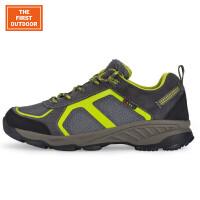 美国第一户外登山鞋男鞋低帮防水徒步鞋户外休闲越野跑鞋防滑耐磨