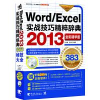 Word/Excel 2013实战技巧精粹辞典(全彩精华版)(1DVD)