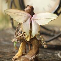欧式田园家居装饰品工艺品 婚房新房摆设 森林天使摆件