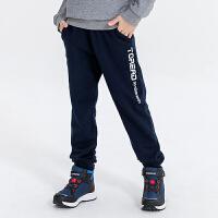 【到手价:84】探路者儿童卫裤 19秋冬户外童装通款舒适儿童卫裤QAMH95135