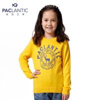 派克兰帝品牌童装 秋装秋装男童女童卡通印花套头线衣