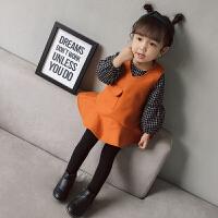秋女童加绒加厚公主裙儿童长袖裙子婴儿1-3岁0女宝宝连衣裙秋装