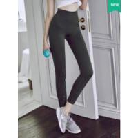 健身裤女弹力紧身速干九分运动裤跑步训练打底高腰蜜桃提臀瑜伽裤