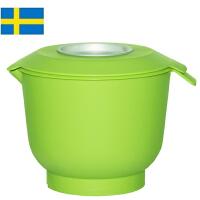 【当当海外购】 瑞典进口Orthex 烘焙打蛋碗打奶油料理碗搅拌碗-带创意防奶油飞溅盖子-2.0L