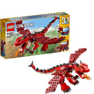 [当当自营]LEGO 乐高 CREATOR创意百变系列 红色巨怪 积木拼插儿童益智玩具 31032