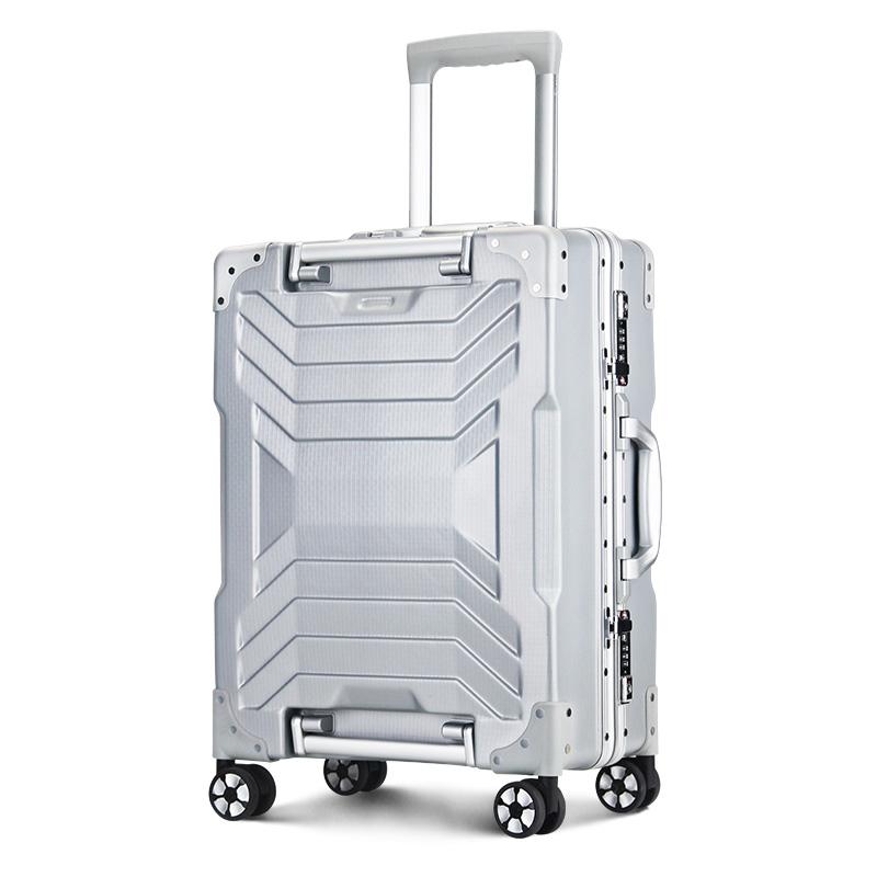 OSDY个性拉杆箱高档铝框箱20寸登机箱24寸托运箱K530个性大气时尚铝框箱