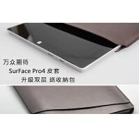 微软电脑包适用于Surface Pro3/4/5直插皮套Surface Book约内胆包世帆家S sf book 双层