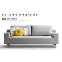 【一件3折】北欧舒适系亲肤沙发W1861 组合沙发转角沙发牛皮沙发羽绒沙发乳胶沙发