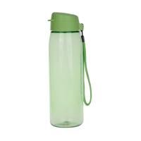 特百惠乐活750ml水杯子运动水壶塑料大容量户外便携防漏随手杯香瓜绿