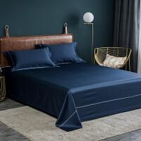 60支纯棉贡缎床单单件素色1.0米1.2米1.5m床单双人1.8m全棉被单